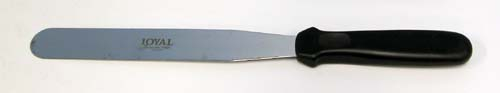 Loyal flat pallette knife 20 cm blade, 13 cm handle