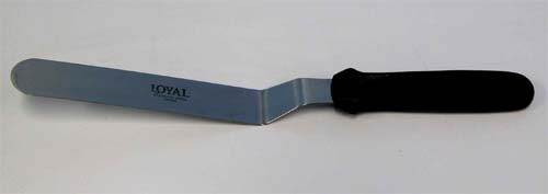 Loyal corked pallete knife 20 cm with 13cm handle