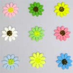 Mix Daisies assorted 3cm